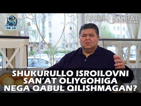 """Shukurullo Isroilov: bachkanalik, Avaz Oxun va """"Million"""" haqida..."""