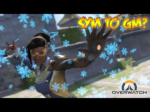 SYMMETRA ONLY TO GRANDMASTER?! - Overwatch Ranked Gameplay!