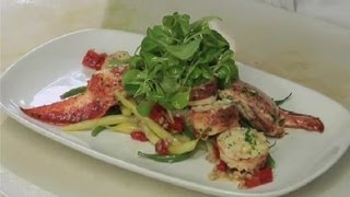 French Lobster Salad : Lobster Salads