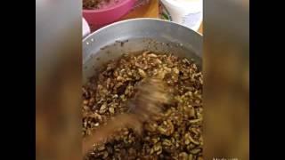 кавказская кухня домашний сникерс! чак чак ореховый дагестанская кухня(Этот ролик обработан в Видеоредакторе YouTube (http://www.youtube.com/editor), 2016-12-02T17:19:26.000Z)