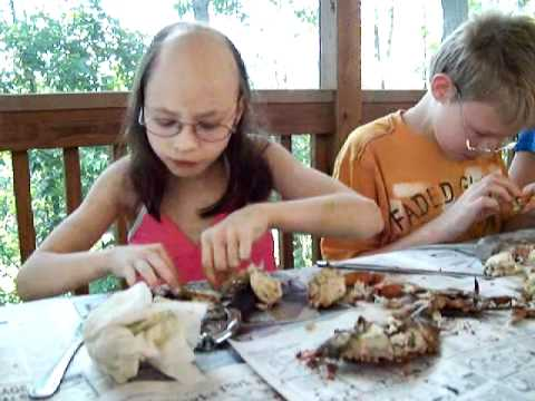 Juliana Carver Eating Crabs 2 Days after her latest chemo ...