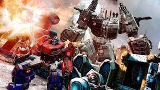 Игра в которую интересно играть) Transformers Fall of Cybertron!
