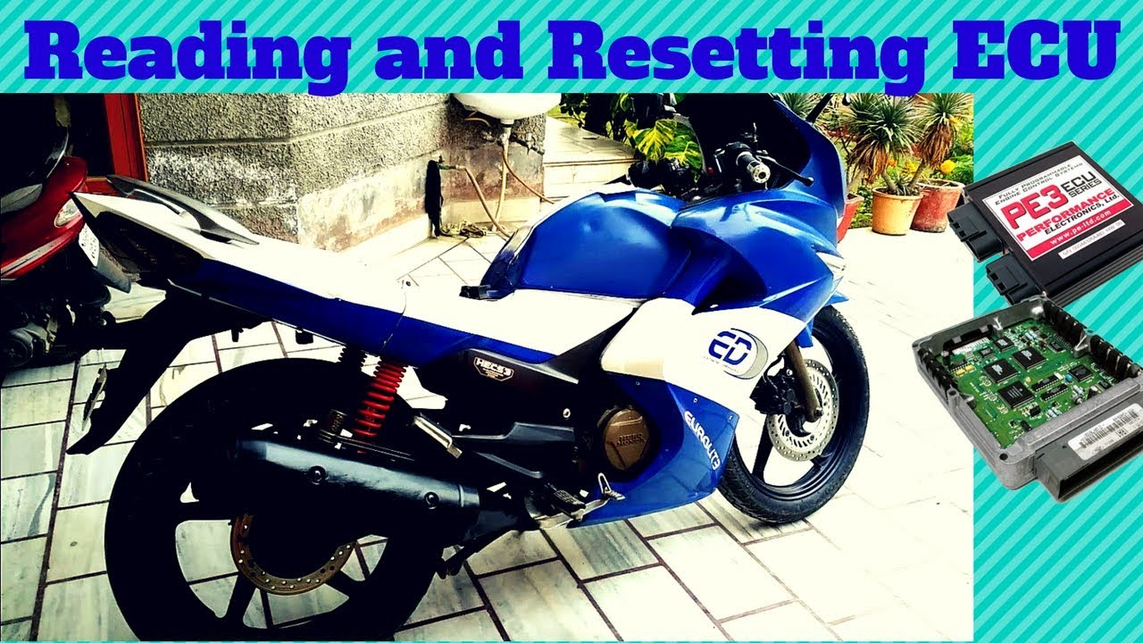 Reading And Resetting Karizma Zmr Cbr 250 Ecu Malfunction Codes And  Throttle Plate Angle Sensor  Topend 07:28 HD