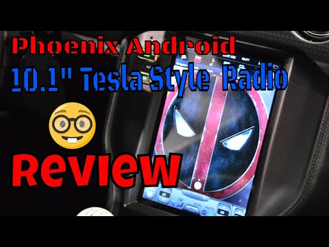 """Full Review of the 10.1"""" Tesla Style Android Radio for the S550 Mustang - That 5.0 Guy"""