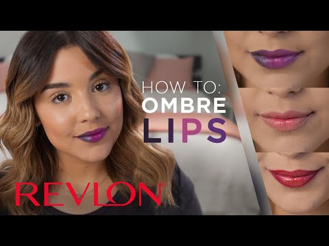 How to: Trendy Ombre Lips feat. MakeupbyAmarie | Revlon