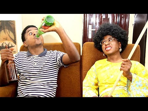 Download Getting Drunk Prank In An African Home | Mc Shem Comedy