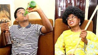 I Am Drunk Prank On My African Mother | Mc Shem Comedian