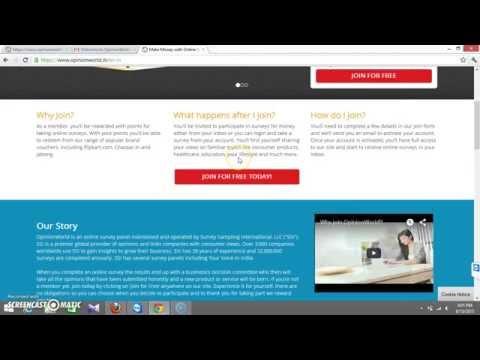 Opinion World Online Survey Registrtion Process | Best Paid Surveys India