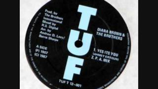 Diana Brown & The Brothers - Yes its you