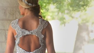 "Father of Bride wears Tie embroidered with ""I Loved Her First"" in this Texas Ranch Wedding Video"