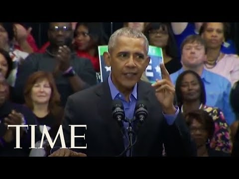 \'You Don\'t Want Just A Yes Man.\' Barack Obama Rallies For Sen. Joe Donnelly In Indiana | TIME