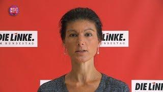 Sahra Wagenknecht: Kommen Sie nach Ramstein! Demonstration gegen Krieg und Kampfdrohnen