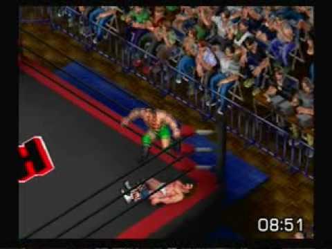 "FPR (PS2) Erick Stevens vs. The ""Texas Tornado"" Kerry Von Erich"