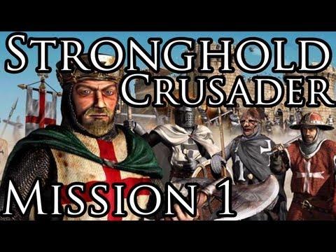 [Прохождение] Stronghold Crusader - Mission 1