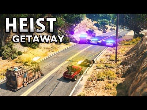 GTA V - HEIST GETAWAY [4K]