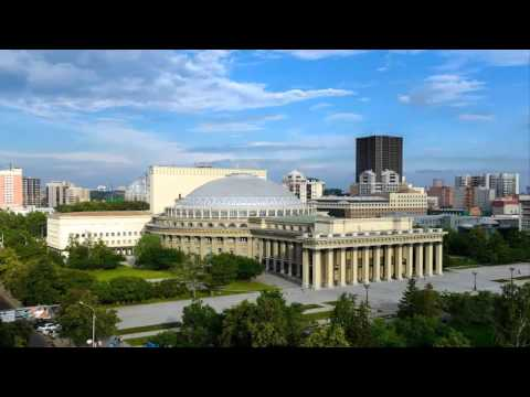 Russian cities, Novosibirsk photo video, travelling to Russia