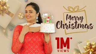 Cake Baking With Me | Merry Christmas | Christmas Special | Cake Baking | Sreemukhi
