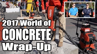 New Tools at World of Concrete 2017