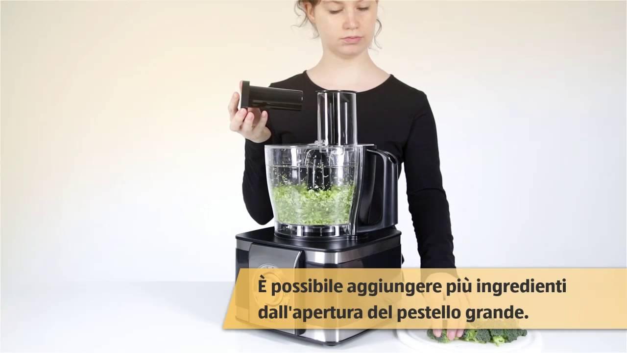 Robot da cucina multifunzione con centrifuga youtube for Robot da cucina multifunzione