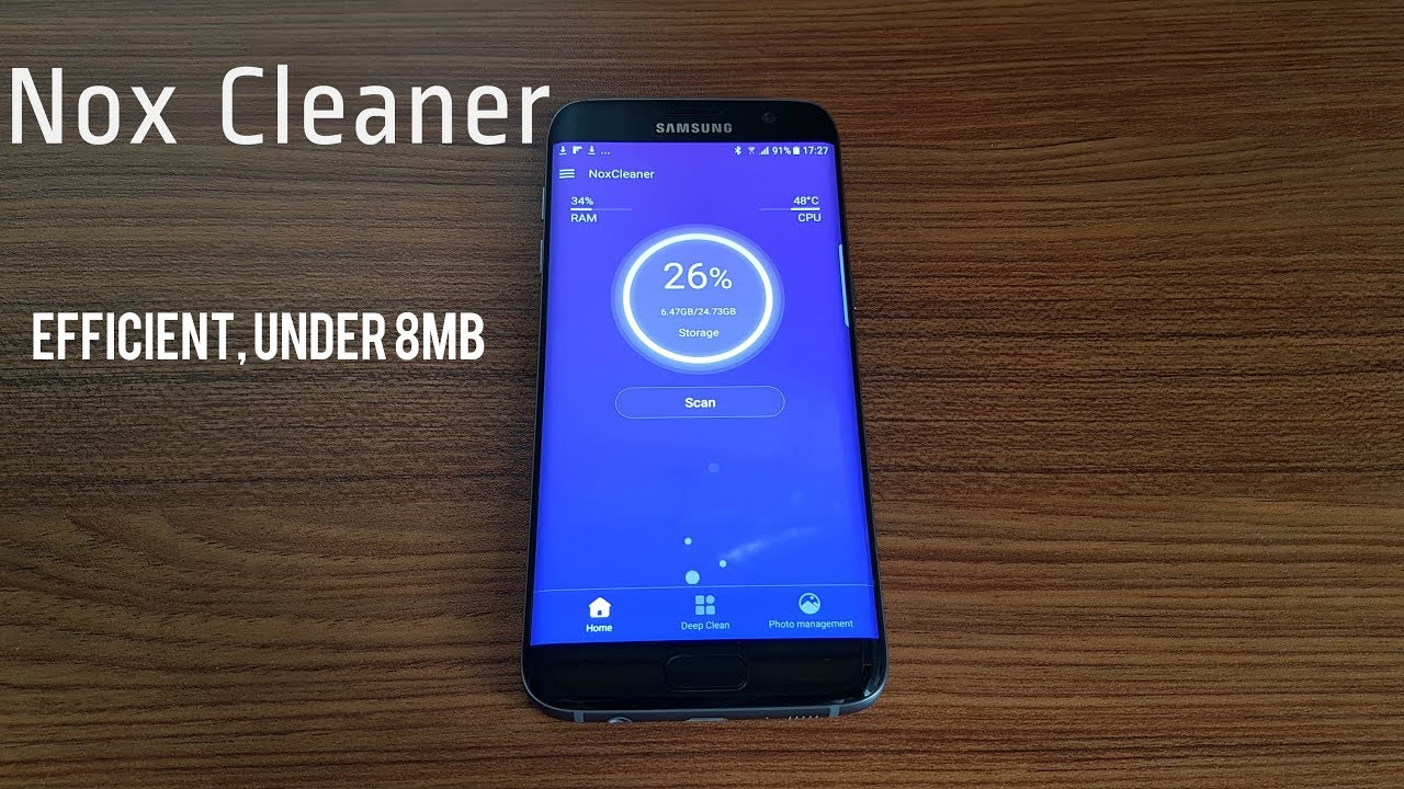 Nox Cleaner - Android OS | BEST CLEANING APP for Android  [HD]