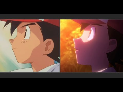 Pokémon I Choose You - intro theme Mashup 1998 & 2017