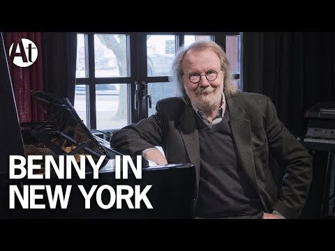 ABBA Benny Andersson performs 'Money,...