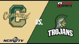 Concord vs Alisal High School Boys Basketball LIVE 1/21/19