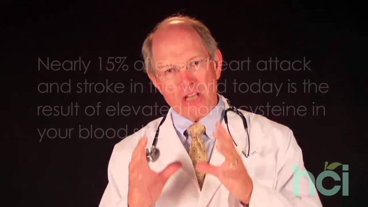 心臟病及中風的原因之--同半胱胺酸 - YouTube