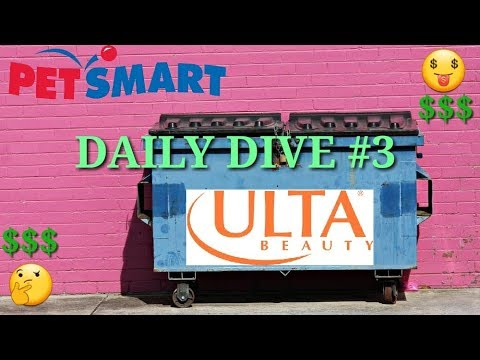 DAILY DIVING VLOG #3 (Ulta, PetSmart, Kirklands, and more!)