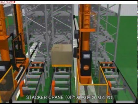 Elite Storage Solutions Stacker Crane For Asrs Youtube