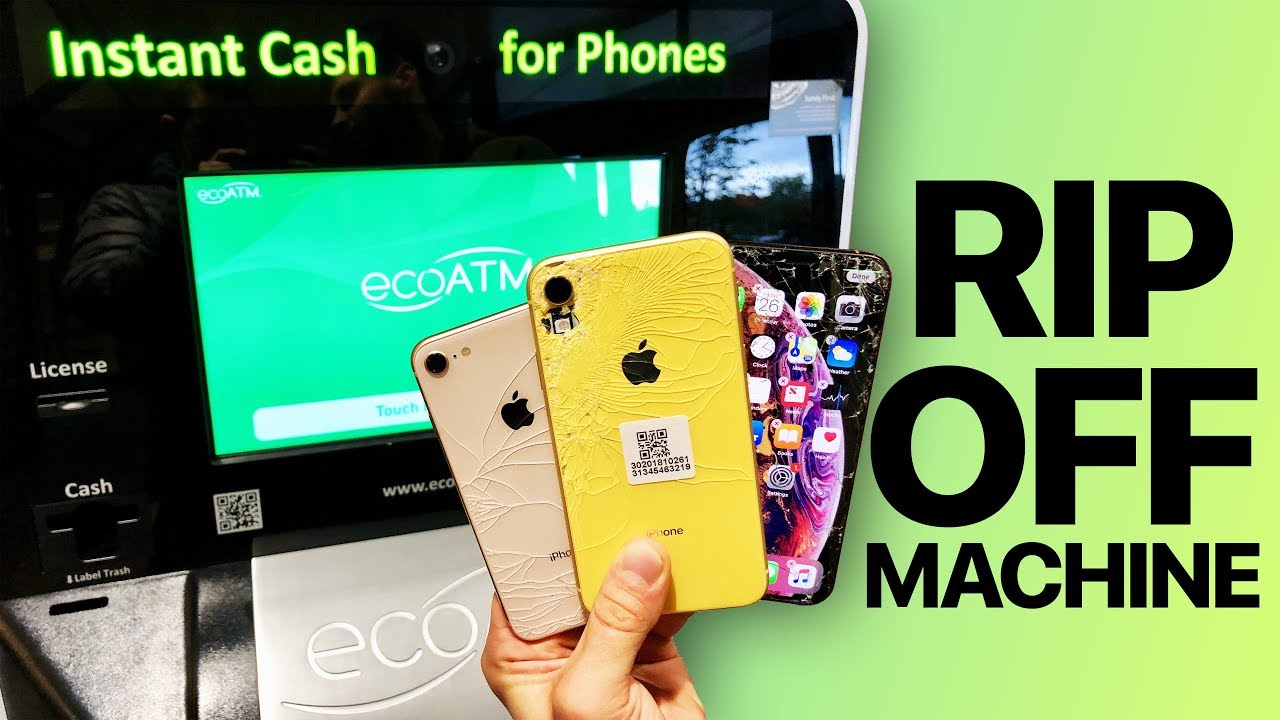 Selling an iPhone XR & XS to ecoATM   How Much $?