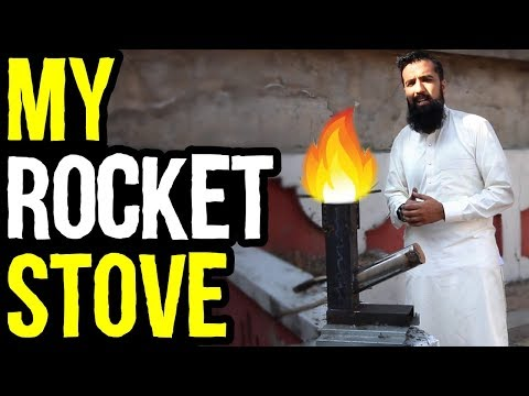 I made a Rocket Stove | Gas Shortage Solution | Pakistan & India BBQ Idea | Azad Chaiwala Show