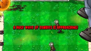 Plants vs Zombies - Wallnut Bowling with Dr. Edgar Zomboss - Video Test thumbnail
