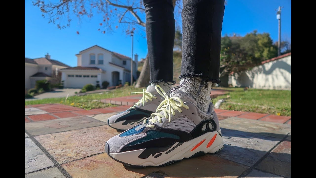 c202b8c51f493 YEEZY BOOST 700 WAVE RUNNER! REALEST ON FOOT ON YOUTUBE! - YouTube