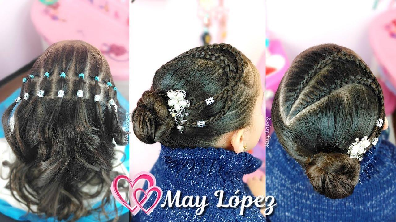 Peinados Elegantes Faciles Para Niñas Peinados 2019 May Lopez