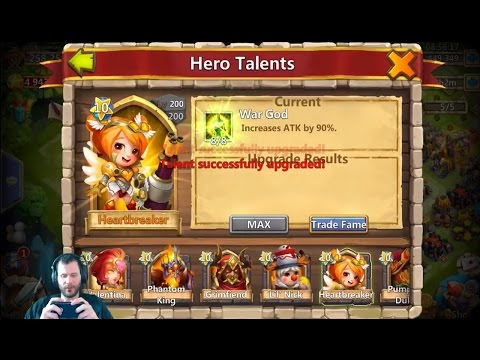 Finally Max Out HeartBreaker And Fail On Arch NOT HAPPY Castle Clash