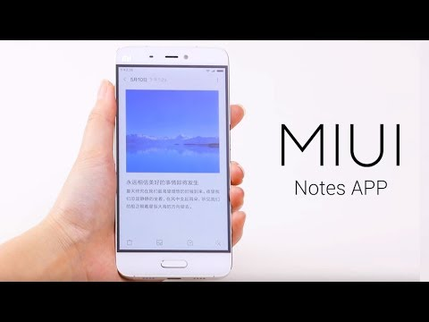 MIUI 8 Notes app : Android