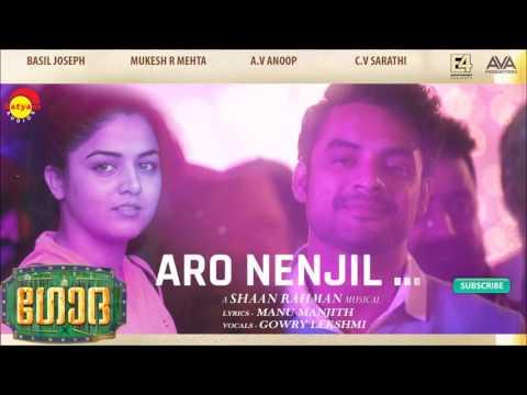 Aaro Nenjil Audio Song | Godha | Music by Shaan Rahman | Manu Manjith | Gowry Lekshmi