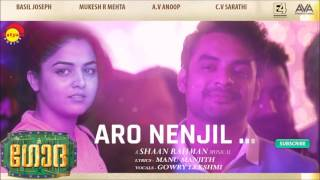 Aaro Nenjil Audio Song | Godha | Music by Shaan Rahman | Manu Manjith | Gowry Lekshmi