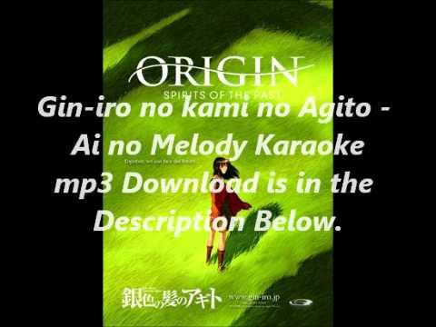 Gin-iro no kami no Agito - Ai no Melody Karaoke mp3 Download