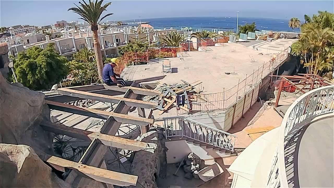 Hotel jardines de nivaria refurbishment 2016 2nd part for Hotel jardines de nivaria