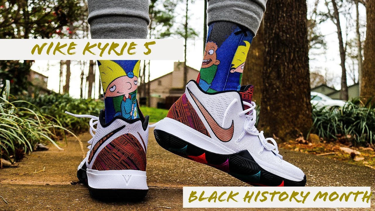 NIKE KYRIE 5 BLACK HISTORY MONTH REVIEW