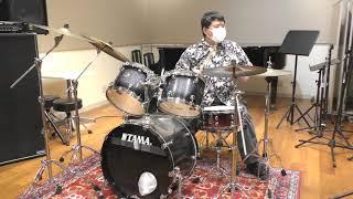 【ドラム初心者】ドラム歴1ヶ月の芸人が8ビート・フィルインの練習