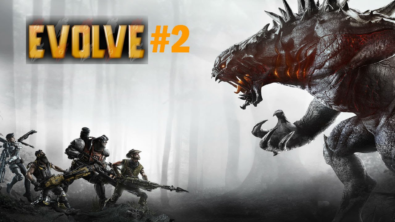 《Evolve》 惡靈進化 Gameplay#2 - 怪獸遊戲畫面 - YouTube