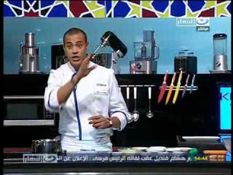 ركن المرأه الثوميه كنافه عثمانى الشيف علاء