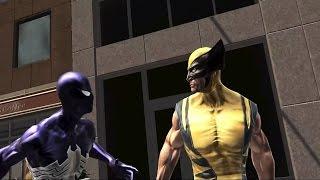 Spider-Man Web of Shadows - All Cutscenes FULL MOVIE (PC 1080p 60fps)