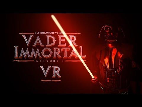 Встречаем Дарта Вейдера в Star Wars: Vader Immortal - Эпизод 1 (Valve Index)