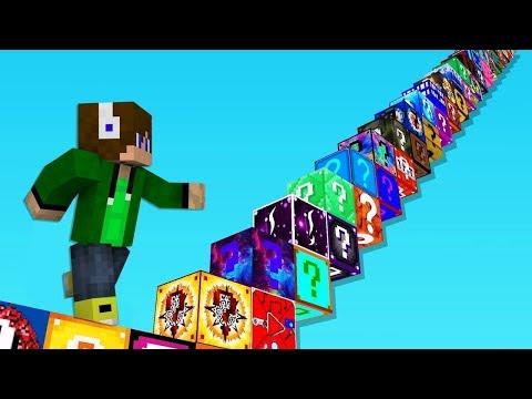 Chcete vidět nejlepší Minecraft LUCKY BLOCK mapu na světě?! Tady ji máte!! + NOVÉ LUCKY BLOKY!