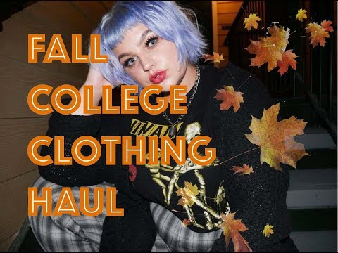 3ec5190e538 TRY-ON FALL COLLEGE CLOTHING HAUL
