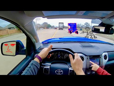 2019 Toyota Tundra TRD Pro in VooDoo Blue , POV  Walk-around and Review  by owner